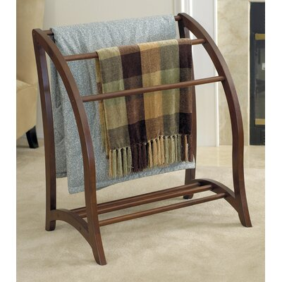 Walnut Quilt Rack