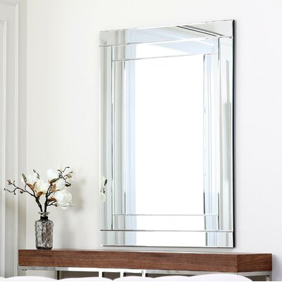 Rectangle Silver Wall Mirror