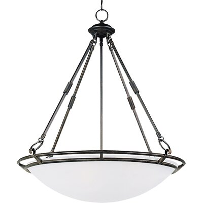 Gearheart 4-Light Pendant Finish: Bronze, Size: Medium