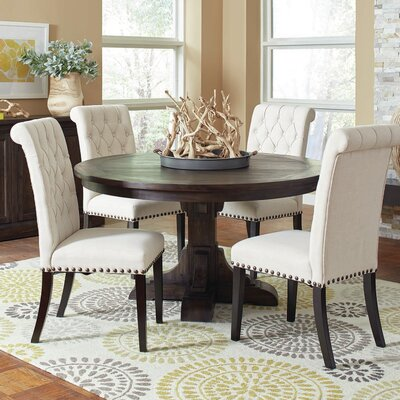 Bumgardner 5 Piece Traditional Wood Dining Set