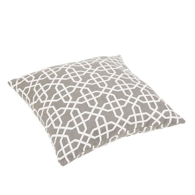 Malcom Geometric Indoor/Outdoor Sunbrella Floor Pillow