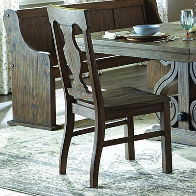 Phyllis Solid Wood Dining Chair (Set of 2)