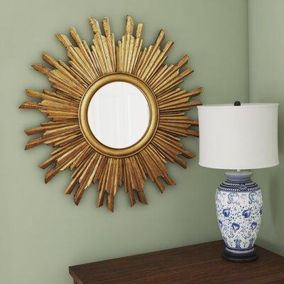 Sunburst Round Mirror