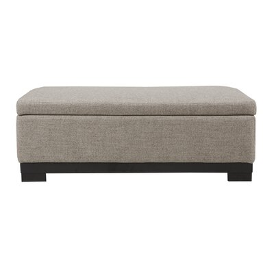 Colyn Storage Ottoman Upholstery: Gray