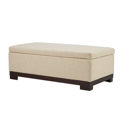 Colyn Storage Ottoman Upholstery: Cream