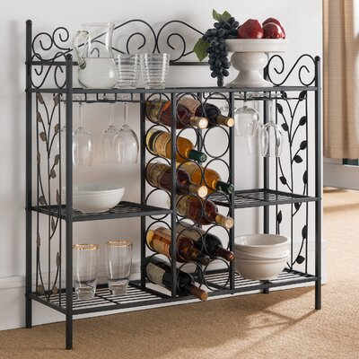 Floyd Metal Storage 12 Bottle Floor Wine Rack