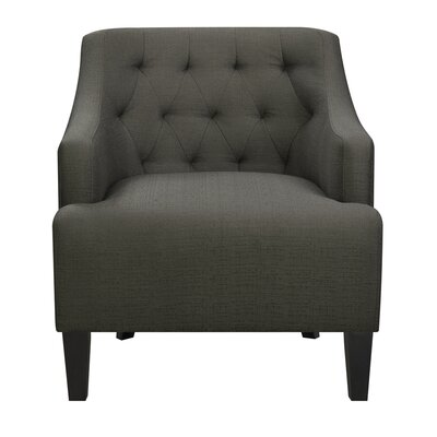 Allan Arm Chair Upholstery: Charcoal
