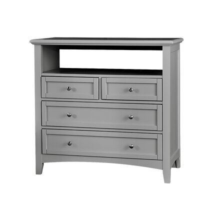 Gastelum 4 Drawer Media Chest Color: Urban Gray