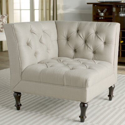 Mercer Jack Club Chair Upholstery: Antique Gold