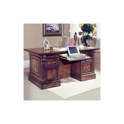 Glastonbury 5.75 H x 66 W Executive Desk Top