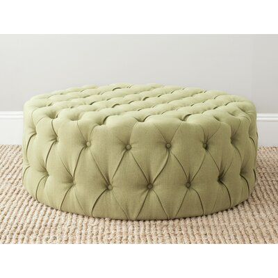 Wyard Cocktail Ottoman Upholstery: Sweet Pea Green