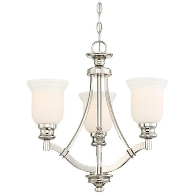 Ameche 3-Light Shaded Chandelier