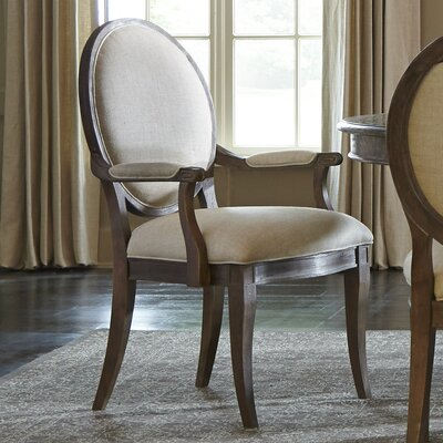 Pond Brook Genuine Leather Upholstered Dining Chair