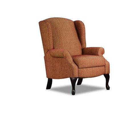 Simmons Upholstery Abbey Hi Leg Recliner Upholstery: Garnet