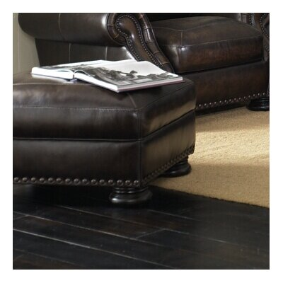 Ranold Leather Ottoman