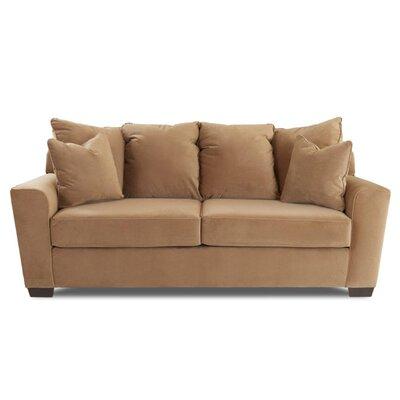 Hardiman Sofa Upholstery: Nina Coffee