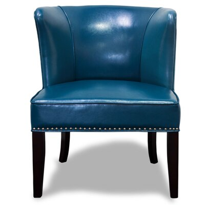 Banderas Wingback Slipper Chair (Set of 2) (Set of 2) Upholstery: Blue
