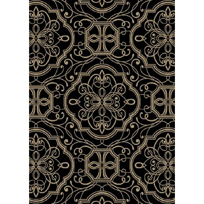 Eula Ebony Area Rug
