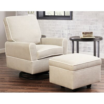 Shelbyville Manual Swivel Recliner With Ottoman