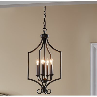 Bourneville 4-Light Foyer Pendant