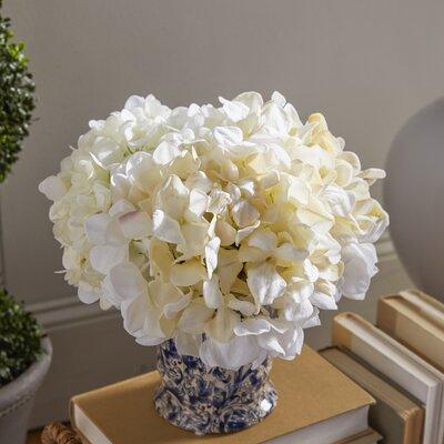 Hydrangea Chinoiserie Vase