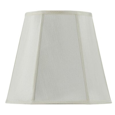 Piped Deep 16 Fabric Empire Lamp Shade Finish: Eggshell