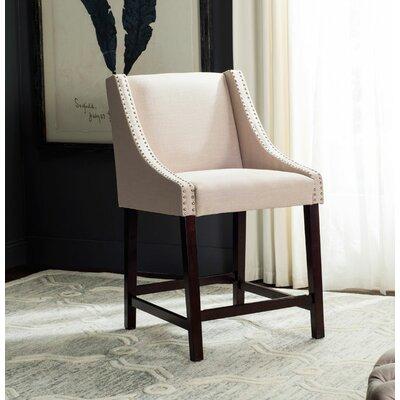 Dunigan 39.5 inch Bar Stool Upholstery: Beige