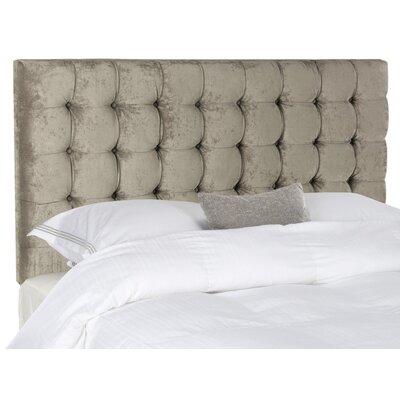 Lyttleburye Upholstered Panel Headboard Size: Queen, Upholstery: Greige