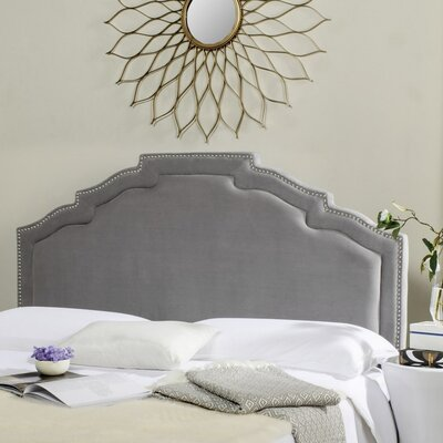 Parsonsfield Upholstered Panel�Headboard Size: Queen, Color: Pewter, Upholstery: Polyester