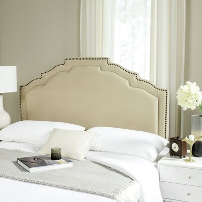 Parsonsfield Upholstered Panel�Headboard Size: Queen, Color: Buckwheat, Upholstery: Polyester