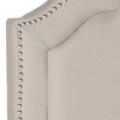 Parsonsfield Upholstered Panel�Headboard Color: Taupe, Size: Twin, Upholstery: Linen