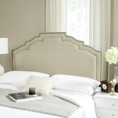 Parsonsfield Upholstered Panel�Headboard Size: Full, Color: Hemp, Upholstery: Linen