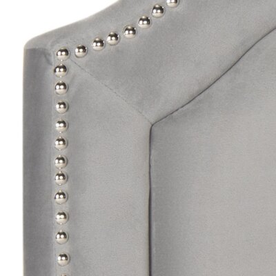 Parsonsfield Upholstered Panel�Headboard Color: Pewter, Size: Twin, Upholstery: Linen