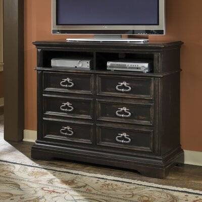Barnys 6 Drawer Media Chest