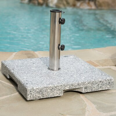 Ronda Outdoor Granite Free Standing Umbrella Base