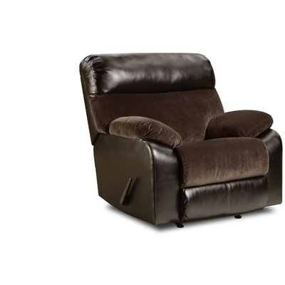 Robandy Recliner by Simmons Upholstery Reclining Type: Manual