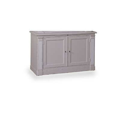 Craine 2 Doors Cabinet Finish: Weathered Gray
