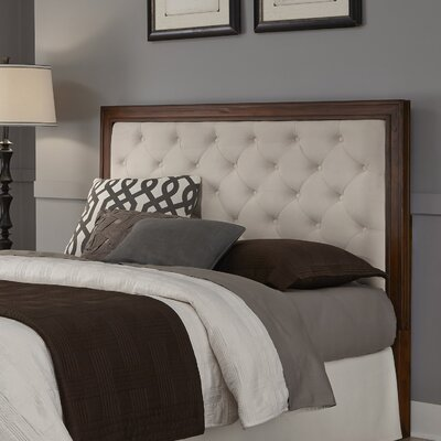Myra Diamond Upholstered Panel Headboard Size: Queen / Full