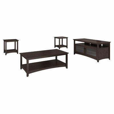 Fralick 4 Piece Coffee Table Set Color: Madison Cherry