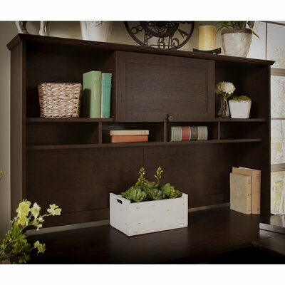 Fralick 36 H x 60 W Desk Hutch Finish: Warm Madison