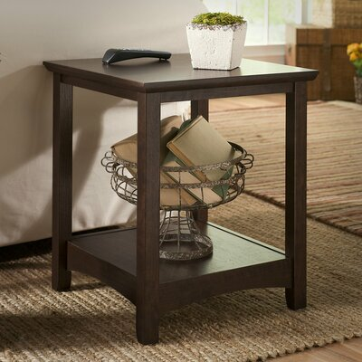 Rossendale End Table Finish: Madison Cherry