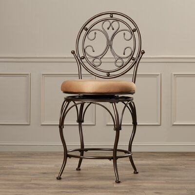 Darlington Traditional 24 Swivel Bar Stool