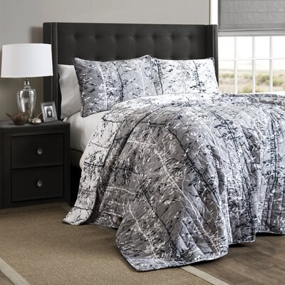 Bartle 3 Piece  Quilt Set Size: King