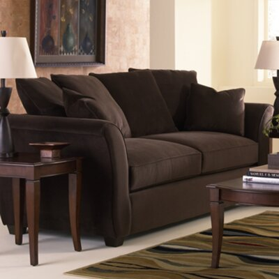 Carnella Sofa Upholstery: Brown