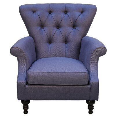 Barwicks Armchair Body Fabric: Ireland Charcoal