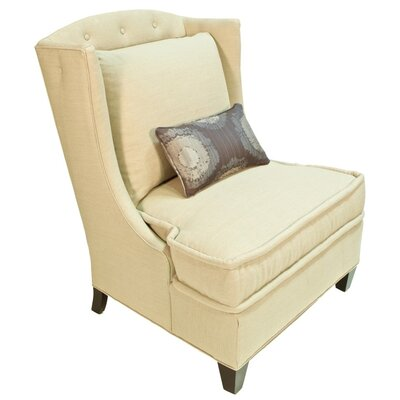 Barwon Wing back Chair Body Fabric: Lena White