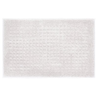 Berkine Bath Rug Size: 24 W x 36 L, Color: Natural