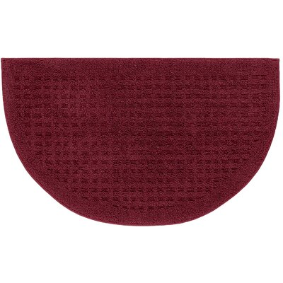 Berkine Bath Rug Color: Cabernet