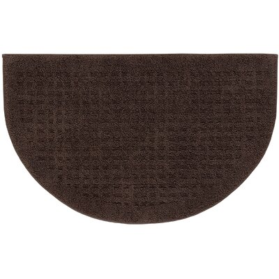 Berkine Bath Rug Color: Chocolate