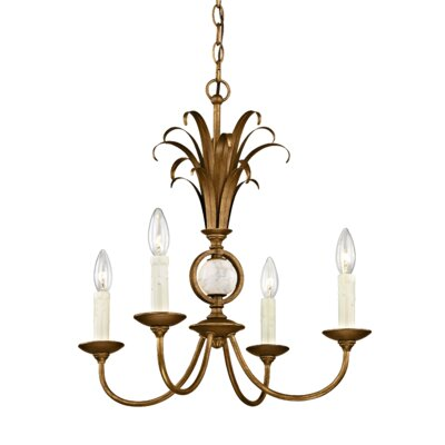 Hayes 4-Light Candle-Style Chandelier